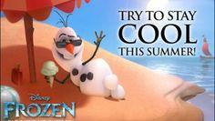 Olaf Ice Cream Dessert from the Disney Movie Frozen