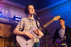 Greta Kline -- aka Frankie Cosmos -- on confessional lyrics, bedroom recordings, and asserting herself at shows. Guitar Girl, Cool Guitar, Frankie Cosmos, Learn To Play Guitar, Female Guitarist, Indie Music, Playing Guitar, Music Artists, How To Memorize Things