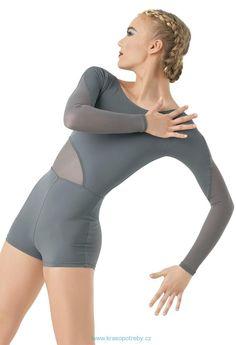 GYMNASTICKÉ DRESY | Gymnastický dres /MT9606/ - barvy | Krasobruslení, tanec a vše co k tomu patří