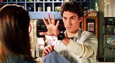 He mastered slight of hand probably just to distract Rory from being frustrated.   19 Reasons Jess Was The Perfect Match For Rory