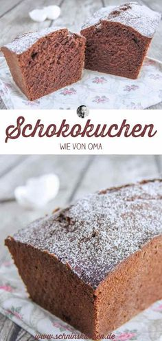 Classic chocolate cake - simple but simply delicious - Schnin& Kitchen- Klassischer Schokoladenkuchen – einfach, aber einfach lecker – Schnin's Kitchen Classic chocolate cake – very simple and easy … - Cake Recipes Without Oven, Cake Recipes From Scratch, Easy Cake Recipes, Chocolate Recipes, Chocolate Cake, Easy Vanilla Cake Recipe, Desserts Sains, Food Cakes, Cheesecake Recipes