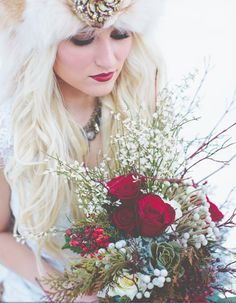 Winter wedding***Photographer Keala Jarvis