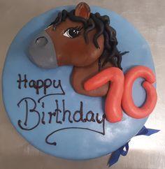 Geburtstagstorte mit Pferd
