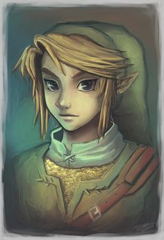 Link. He come to town. To save, the princess Zelda!