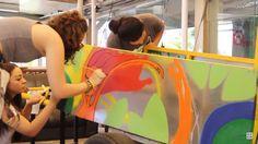 Grafiteiros e catadores de lixo unidos por uma cidade mais humana