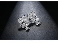 Alloy Simple Animal earring(Platinum-T08H11) NHTM0565-Platinum-T08H11