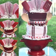 Love this towel !! It was made for a bridal shower !! My new favorite gift idea !! #bridalshower #towel #kitchen #towelcake #kitchentools #love #perfectgift #cutom #events #share #red #wifetobe Yummery - best recipes. Follow Us! #kitchentools #kitchen