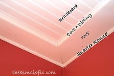 how to wainscot paneling ceiling powder room, bathroom ideas, wall decor, woodworking projects