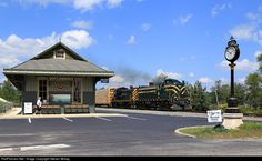 RailPictures.Net Photo: DL 1554 Delaware Lackawanna Alco RS-3 at Gouldsboro, Pennsylvania by Steven Mckay