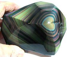 Rainbow Obsidian (polished)