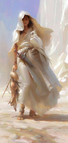 Huntress by Wildweasel339 (detail)