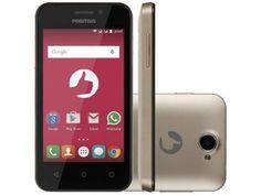 Smartphone Positivo One S420 8GB Dual Chip 3G - Câm. 3.2MP Proc. Dual-Core Android 5.1 Desbl. Oi