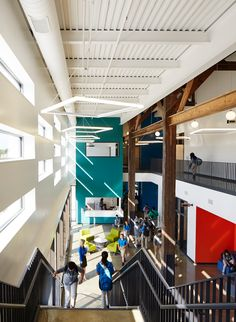 Open Architecture, Education Architecture, School Architecture, School Floor Plan, School Building Design, School Pictures, Learning Environments, Blessing, Outdoor Decor
