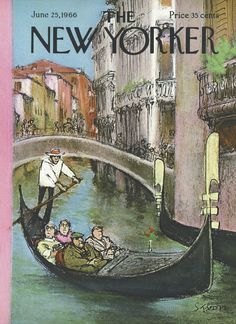 The New Yorker - Saturday, June 25, 1966 - Issue # 2158 - Vol. 42 - N° 18 - Cover by : Charles Saxon