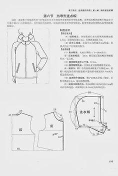 Chinese method of pattern making - it's my hobby. capuche (hood) - SSvetLanaV - Picasa Web Albums