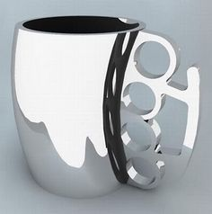 Awesome concept of unusual coffee cups