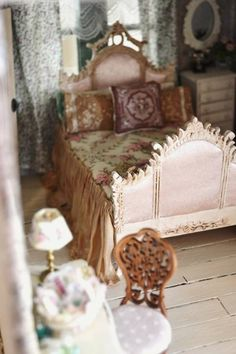 bedroom - WyckedWood Beacon Hill~The Sea Hag~ - Gallery - The Greenleaf Miniature Community