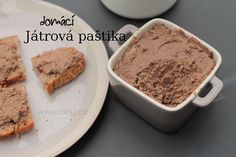 Játrová paštika, jednoduchá a tak moc dobrá Pavlova, Ham, Banana Bread, The Cure, Appetizers, Homemade, Cooking, Recipes, Salama