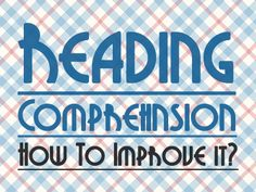 Reading Comprehension in French: How to improve it? I share with you a good resource.