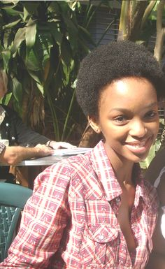 "Young Nandi Mngoma is a classy Afrikan woman!  ""She's one of South Africa's darlings. There's nothing not to like about this songstress, TV presenter and Media Law intern."" via http://www.waafrikaonline.com/2013/11/nandi-mngomas-hair-evolution.html"