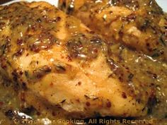 Chicken with Whole Grain Mustard Pan Sauce More