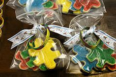 Looking for a unique and fun autism fundraiser idea?  Offer donors a sweet deal with autism cookies fundraising!