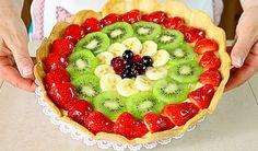 CROSTATA DI FRUTTA FATTA IN CASA - Homemade Fruit Pie Recipe | Fatto in casa da Benedetta