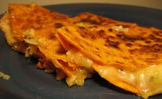 Vegetarian Recipes - She's Vegging Out: Dijon Quesadilla
