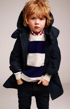 Find Burberry boys' outerwear at ShopStyle. Shop the latest collection of Burberry boys' outerwear from the most popular stores - all in one place. Fashion Kids, Little Boy Fashion, Baby Boy Fashion, Toddler Fashion, Trendy Fashion, Toddler Boys, Kids Boys, Kids Style Boys, Amusement Enfants