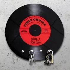 Schallplatte - Schlüsselbrett: