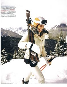 A great feature in Aspen Peak magazine! Bogner Elaine pant, Bogner goggles and helmet. Elaine pant available at http://www.shop-us.bogner.com