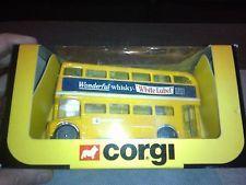 CORGI TOYS BUS ROUTEMASTER REF 521 WHITE LABEL WHISKY