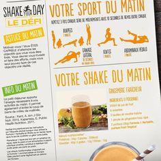 #ShakeYourDay avec #Herbalife Idée recette et routine matinale pour bien démarrer la journée