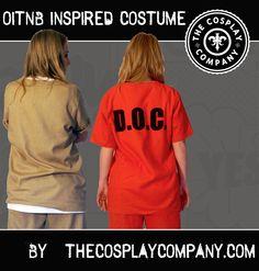 hen doo do wedding girls costume party halloween orange is the new black oitnb piper chapman alex vause