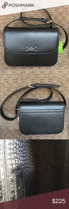 Kate Spade Adelaide Grove Street Messenger Handbag Kate Spade Adelaide Grove Street Messenger Handbag.  New with tags.  Gorgeous handbag to wear as a crossbody for day or night. kate spade Bags Crossbody Bags
