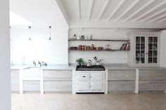 Country Modern Home, Country Kitchen, New Kitchen, Kitchen Decor, Kitchen Ideas, Kitchen White, Kitchen Inspiration, Modern Cottage, Rustic Modern