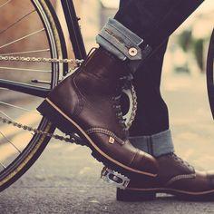 Brown Hudson Hand Made Boots
