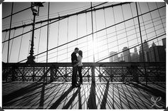 NYC Engagement Photography: Robert and Kathleen Photographers | Central Park and Brooklyn Bridge, Manhattan, NYC: Engagement Session Photos