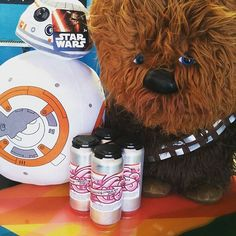 May the Fourth be with you 🍻  #maythe4thbewithyou #maythefourthbewithyou #starwars #cans #beer #craftbeer #indiebeer #beeralani #beeramar #winning #chocolatestout #bb8 #chewbacca #chewie #sandiegobeer #sandiego #sdbeer #drinklocal #2kidsbrewing #sandiego #sandiegoconnection #sdlocals #sandiegolocals - posted by 2kids Brewing Company https://www.instagram.com/2kidsbrewing. See more San Diego Beer at http://sdconnection.com
