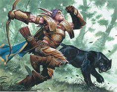 #wowtcg #warcraft #elfe #elf #chasseur #hunter
