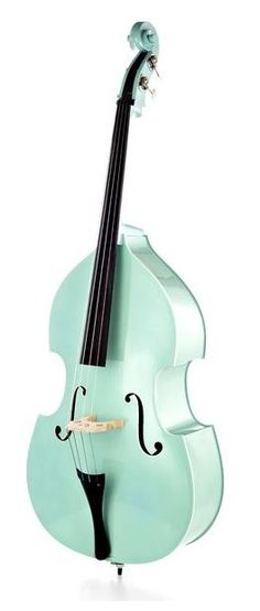 Thomann 50`s Diner PPM 3/4 Double Bass Peppermint, double bass #thomann #doublebass #strings