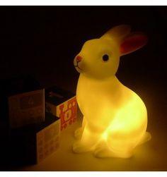 Luce per la notte a pile Coniglietto
