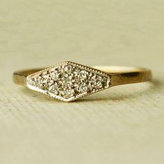 vintage gold ring #bijoux #bijouxcreateur #bijouxfantaisies #paris #tendancesbijoux2016