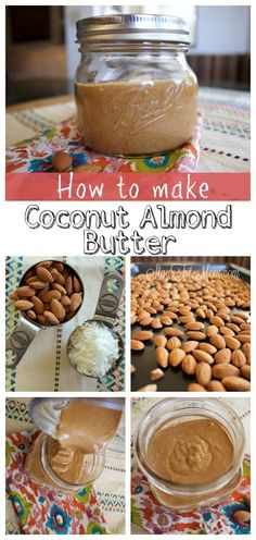 After making my own almond butter I won't ever buy it again. Homemade is SO much better!