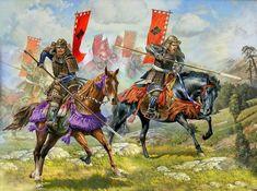 Mounted Samurai by saudixjapan.deviantart.com on @deviantART