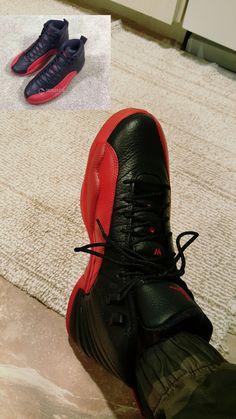 dfc7d20d76dd Retro 12s flu game · Jordan OutfitsFluAll Black SneakersJordan Apparel
