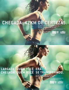 Campanha da Olimpikus pra Maratona Internacional do Rio 2011