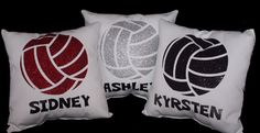 PERSONALIZED VOLLEYBALL pillow printed in non flaking glitter, gorgeous sports decor recognition gift Team Discounts Available Volleyball Senior Gifts, Volleyball Locker Decorations, Volleyball Crafts, Volleyball Party, Senior Night Gifts, Volleyball Workouts, Volleyball Outfits, Coaching Volleyball, Volleyball Mom