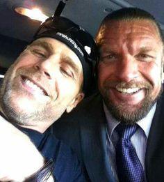 Triple H & Shawn Michaels