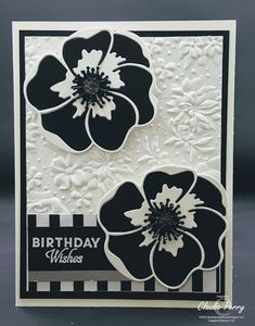 Stamping in Columbus, GA: Poppy Moments - Paper Piecing Happy Birthday Cards, Diy Birthday, Poppy Cards, Diy Wedding Bouquet, Stamping Up Cards, Flower Cards, Creative Cards, Paper Piecing, Diy Cards